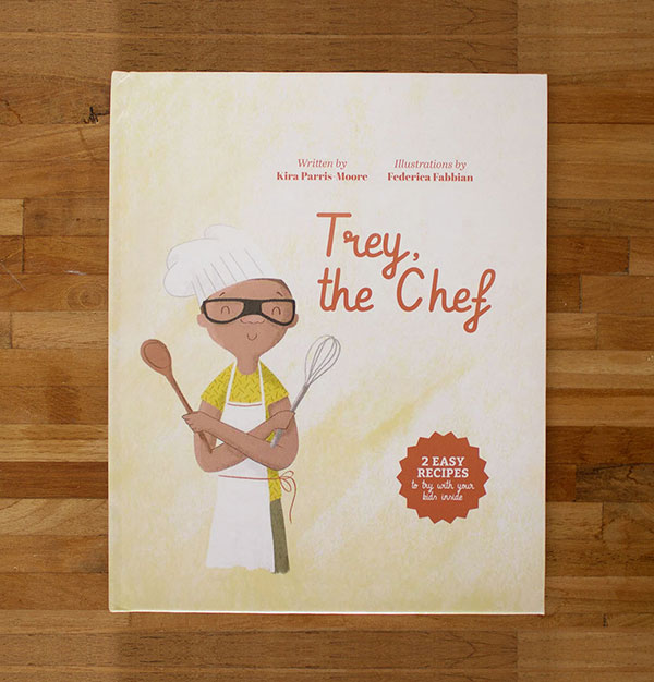 Trey, the chefillustrated book