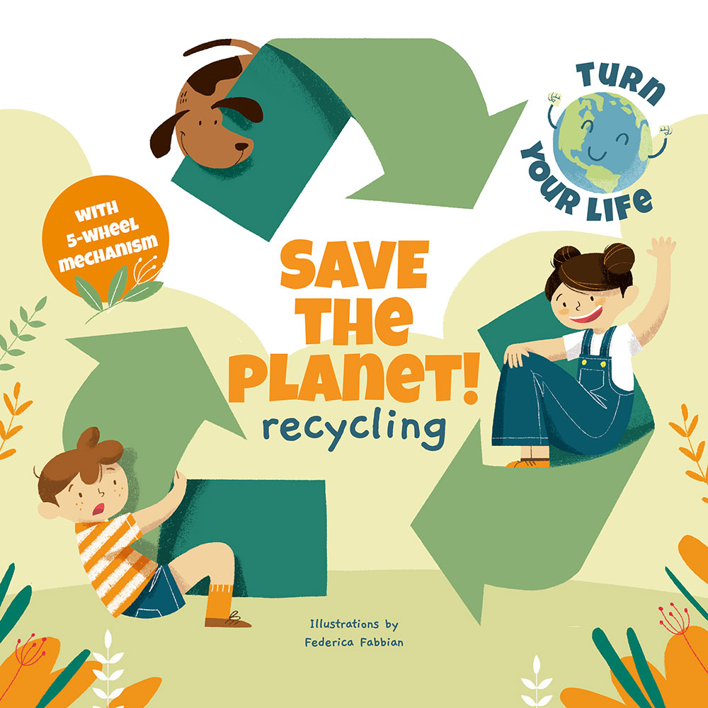 Save the Planet - RecyclingChildren Book White Star Kids